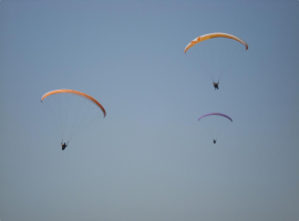 Paragliding stag group